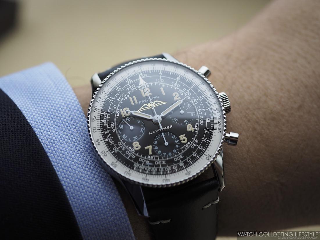 Breitling Navitimer ref. 806 1959 Re-Edition Wristshot WCL