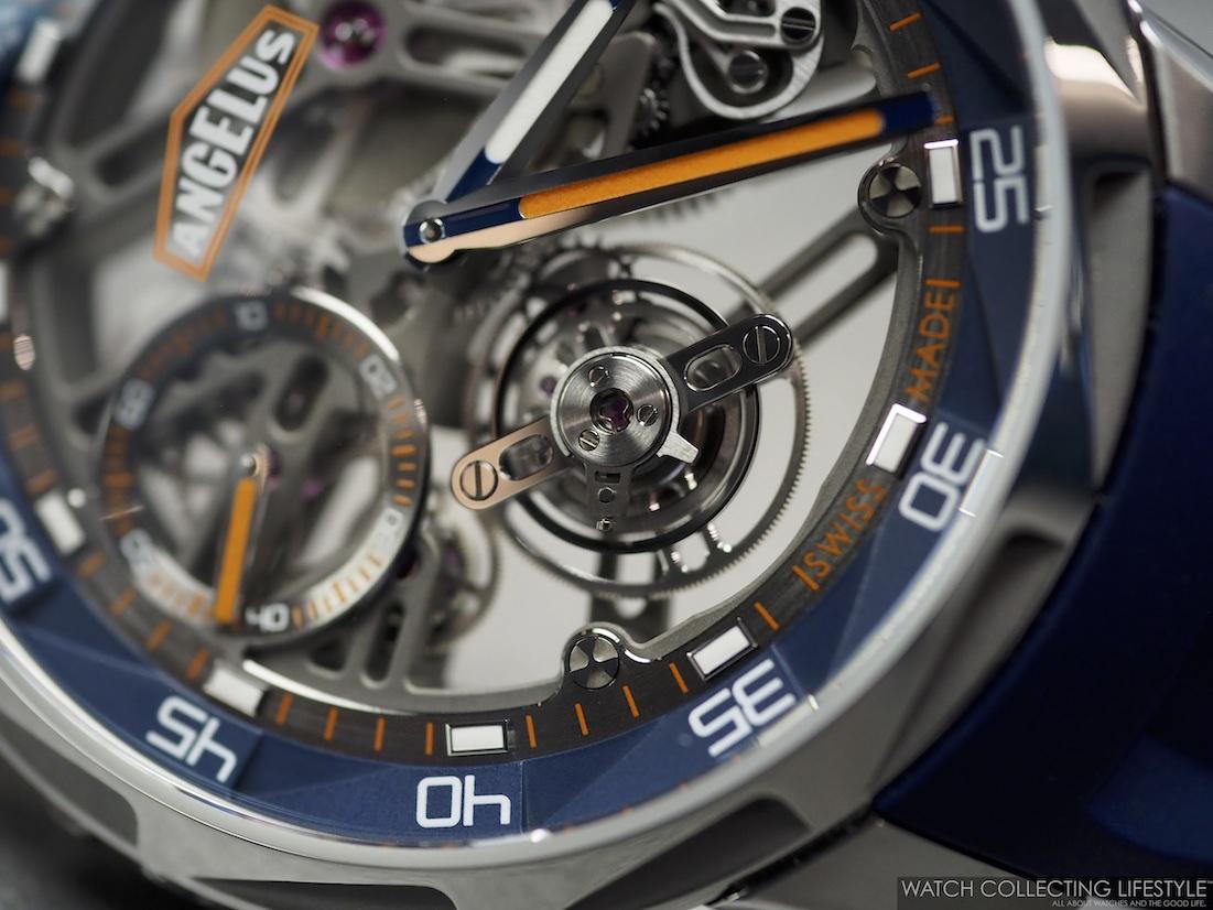 Angelus U51 Diver Tourbillon Orange Blue WCL3