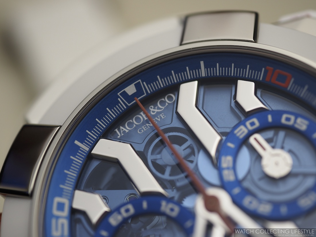 Jacob & Co. Epic X Chrono Messi Macro WCL