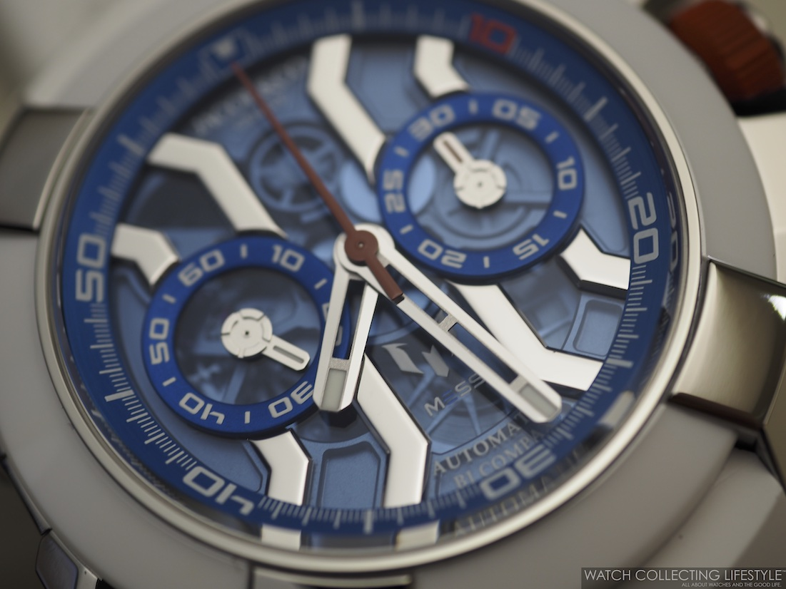 Jacob & Co. Epic X Chrono Messi Macro WCL2