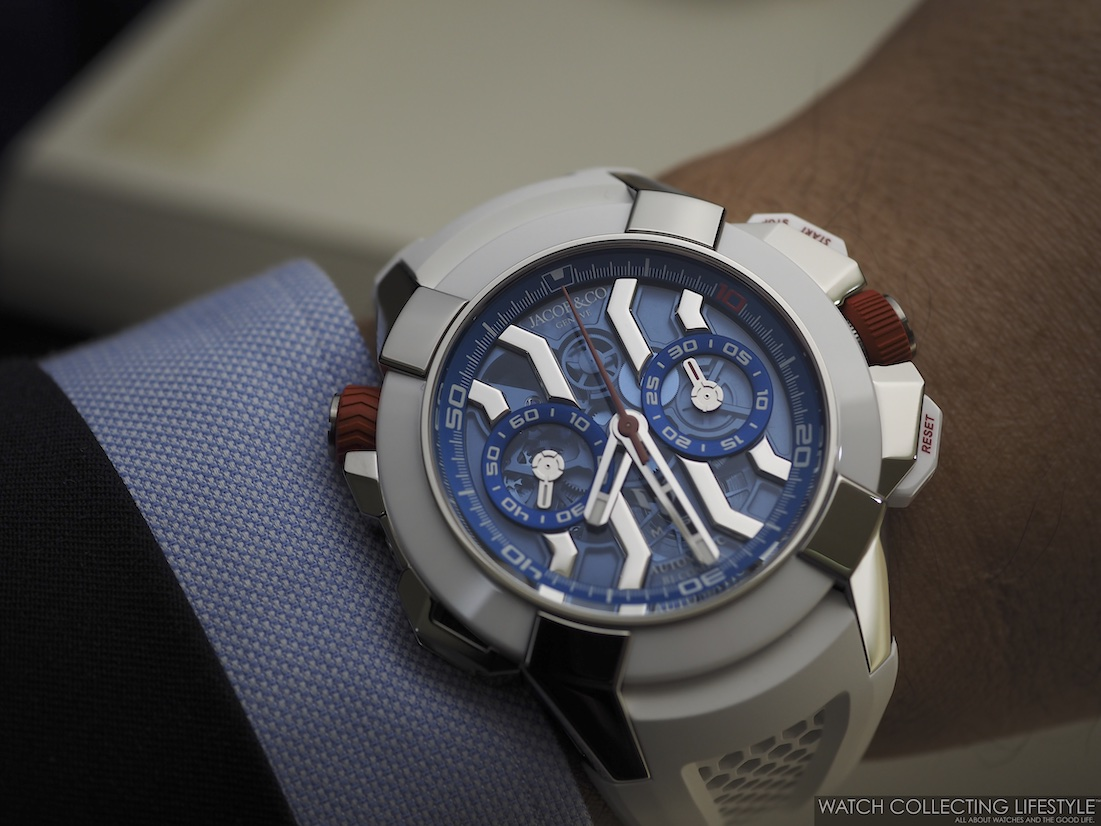 Jacob & Co. Epic X Chrono Messi Limited Edition Wristshot