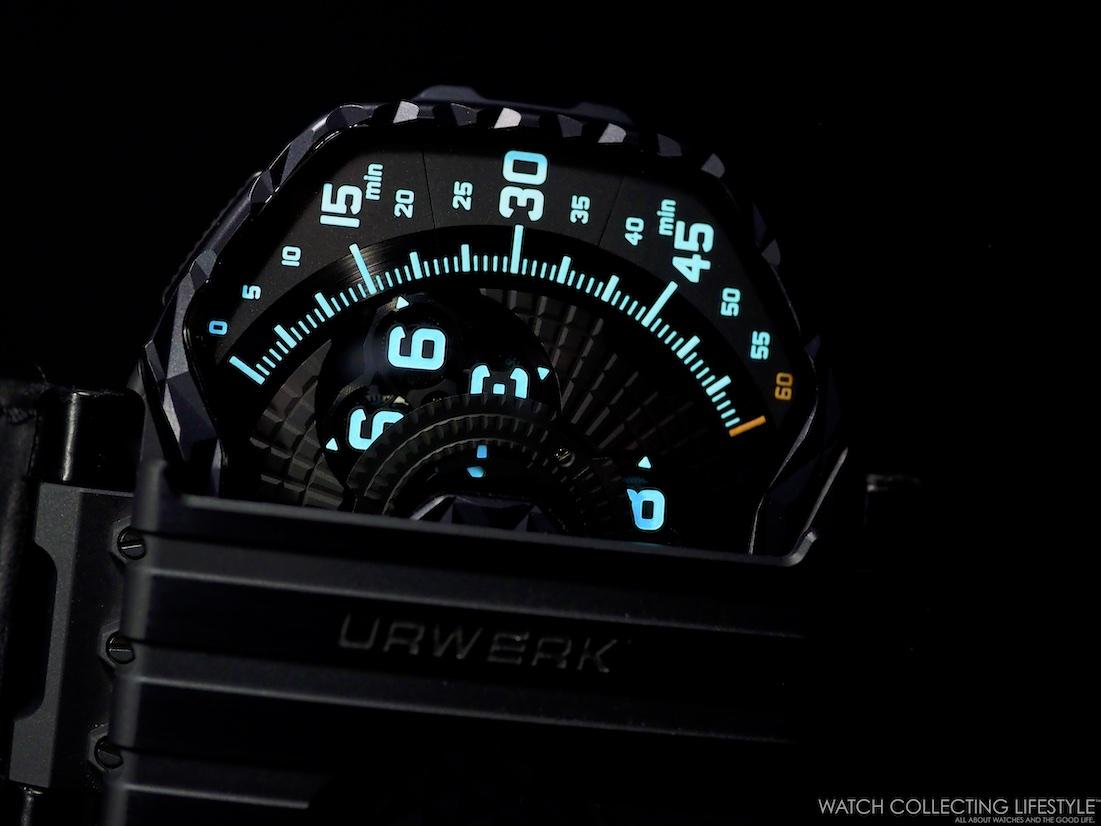 Urwerk UR-T8 Colibri Lumeshot WCL