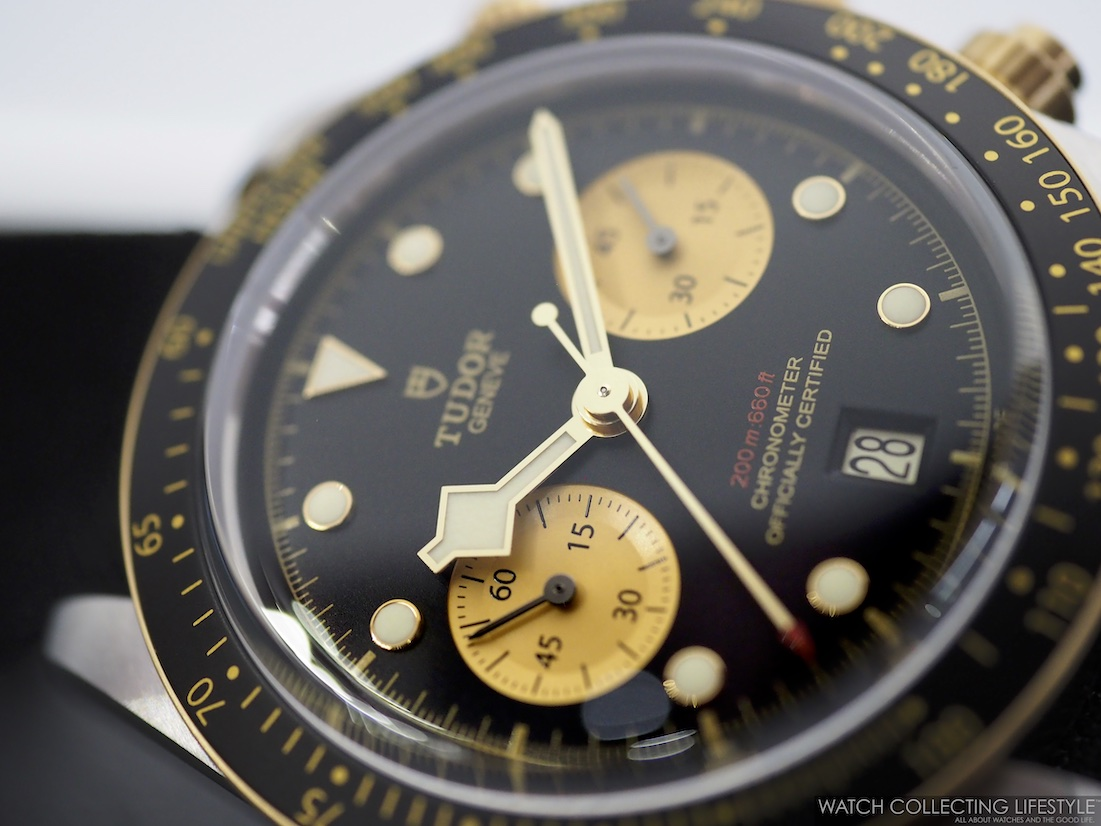 Tudor Black Bay Chrono Steel & Gold ref. MT5813 WCL