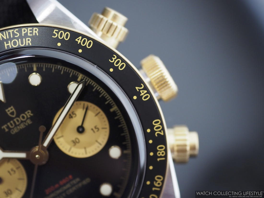 Tudor Black Bay Chrono Steel & Gold ref. MT5813 Pushers