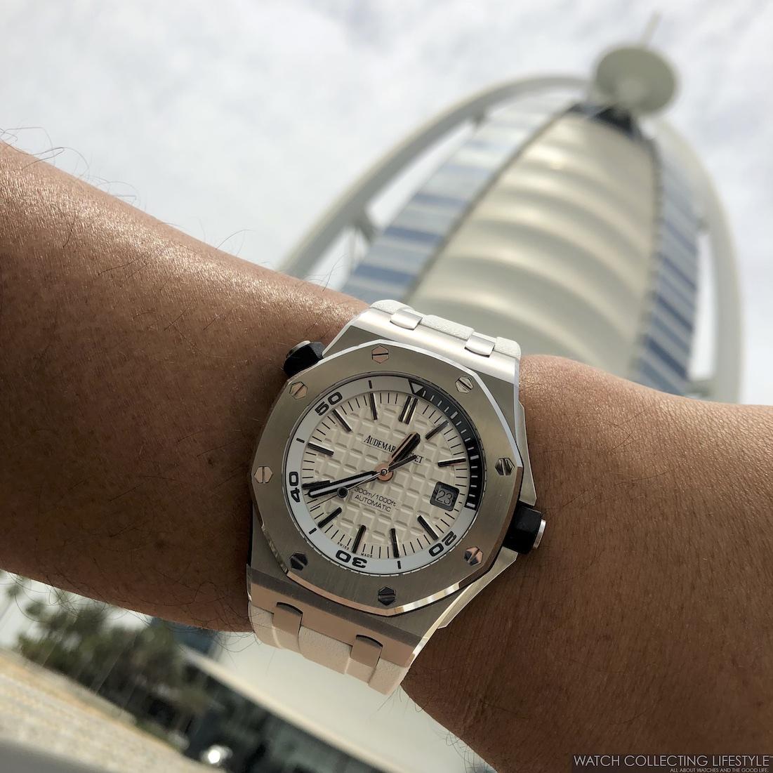 AP Royal Oak Offshore Diver at Burj Al Arab Hotel