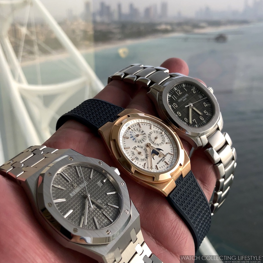 Holy Trinity of Watchmaking in Dubai