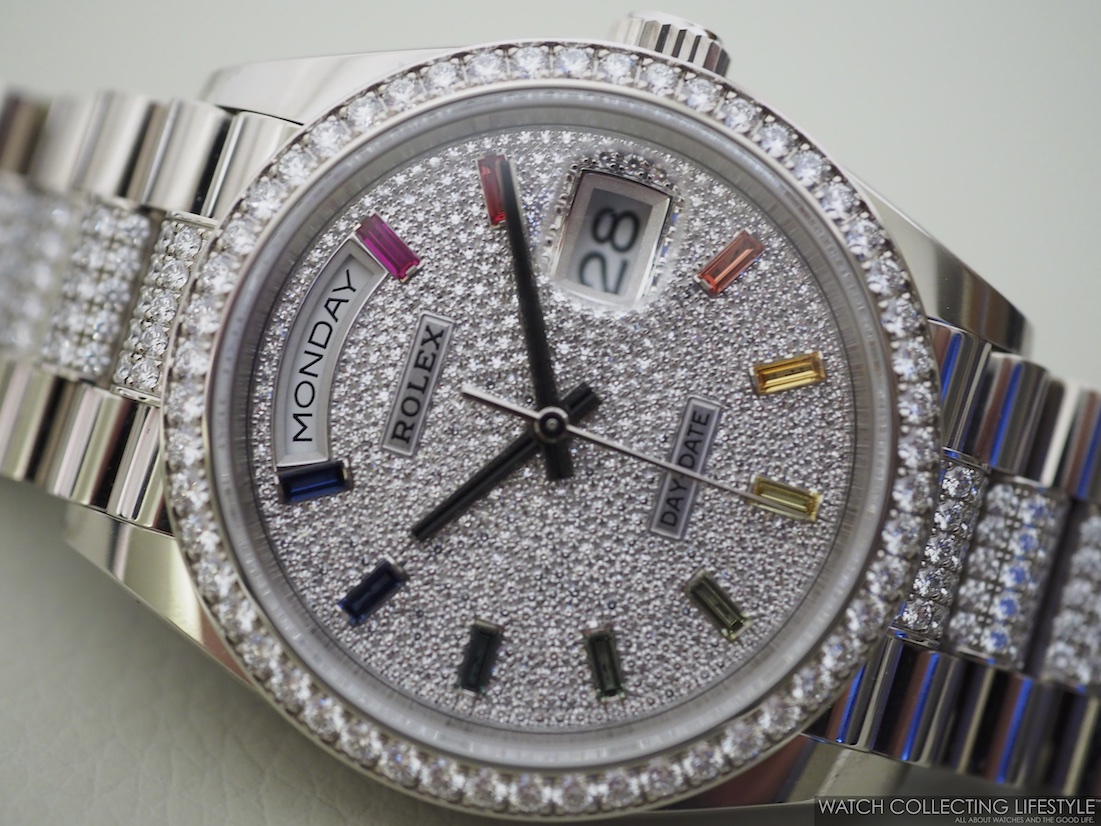 Rolex Day-Date 36 ref. 128349RBR Full Pavé WCL2
