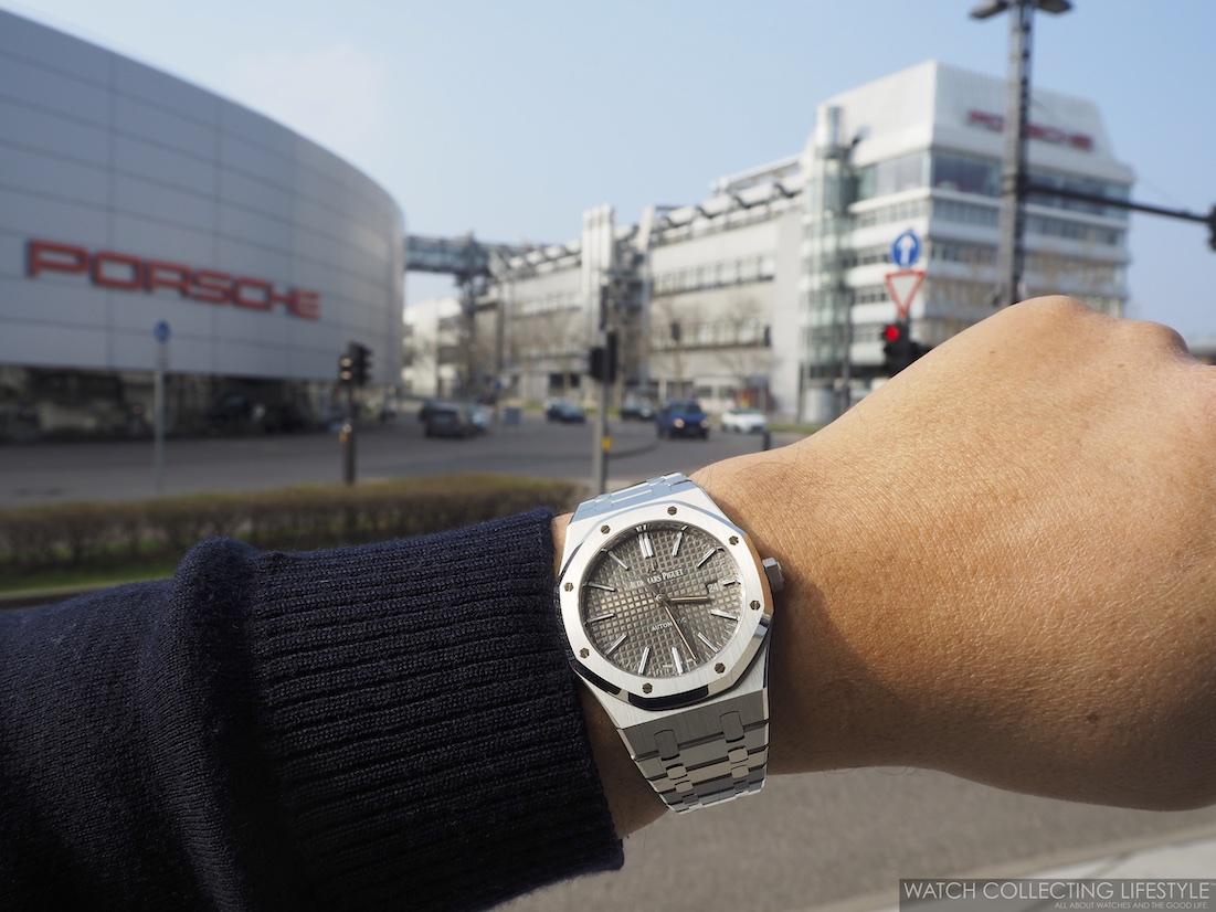 Porsche Factory in Stuttgart-Zuffenhausen