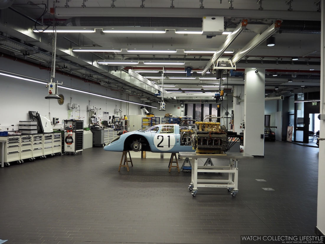 Porsche Restoration Shop at the Porsche Museum