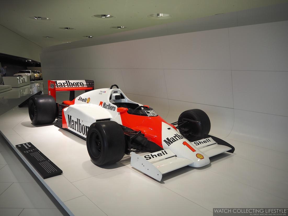 Alain Prost McLaren TAG Porsche Formula One