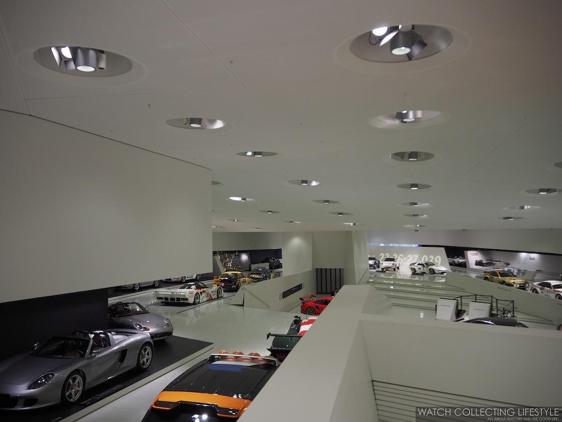 Porsche Museum Last Level View