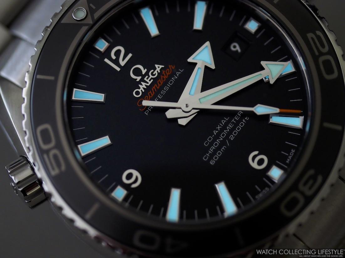 Seamaster Planet Ocean 600M James Bond, the Seamaster ref. 232.30.42.21.01.001 Lumeshot
