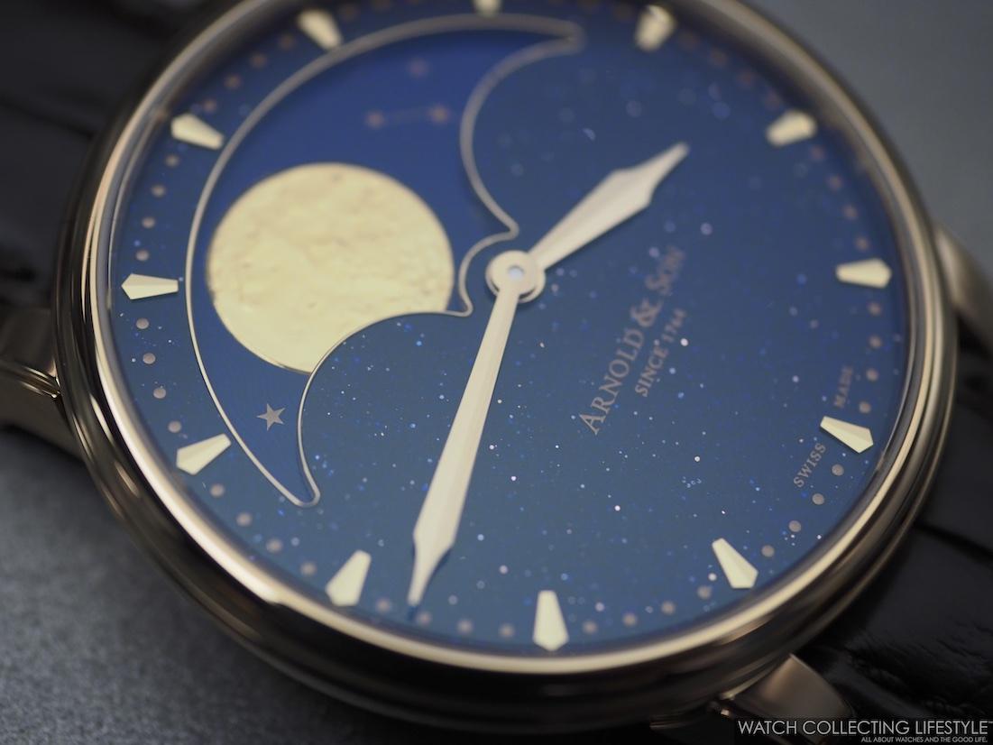 Arnold & Son HM Perpetual Moon Aventurine WCL3