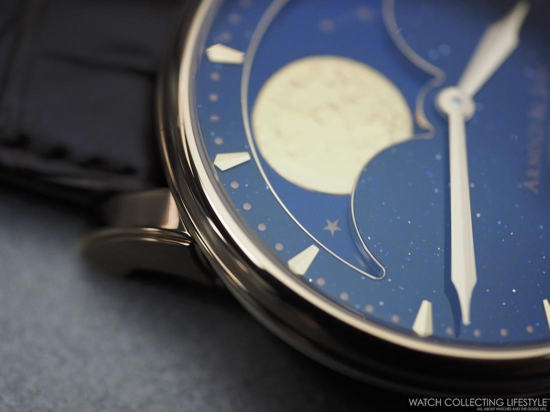 Arnold & Son HM Perpetual Moon Aventurine WCL4
