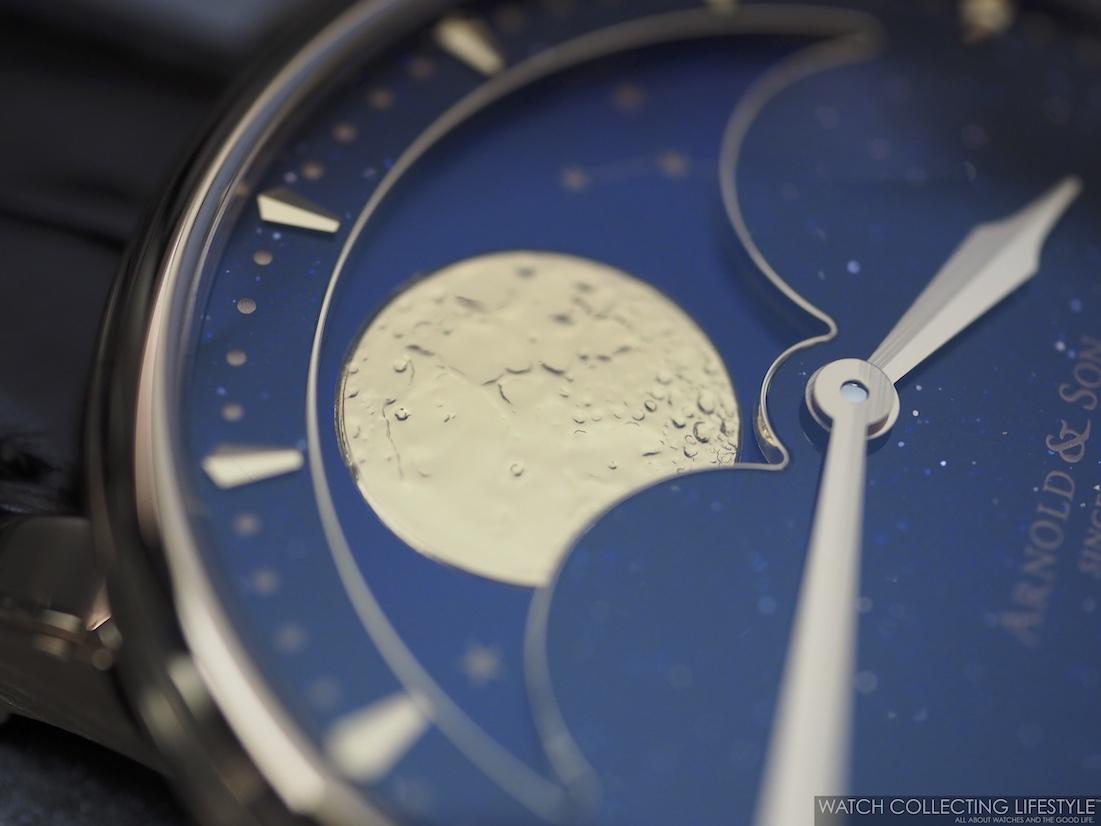 Arnold & Son HM Perpetual Moon Aventurine WCL6