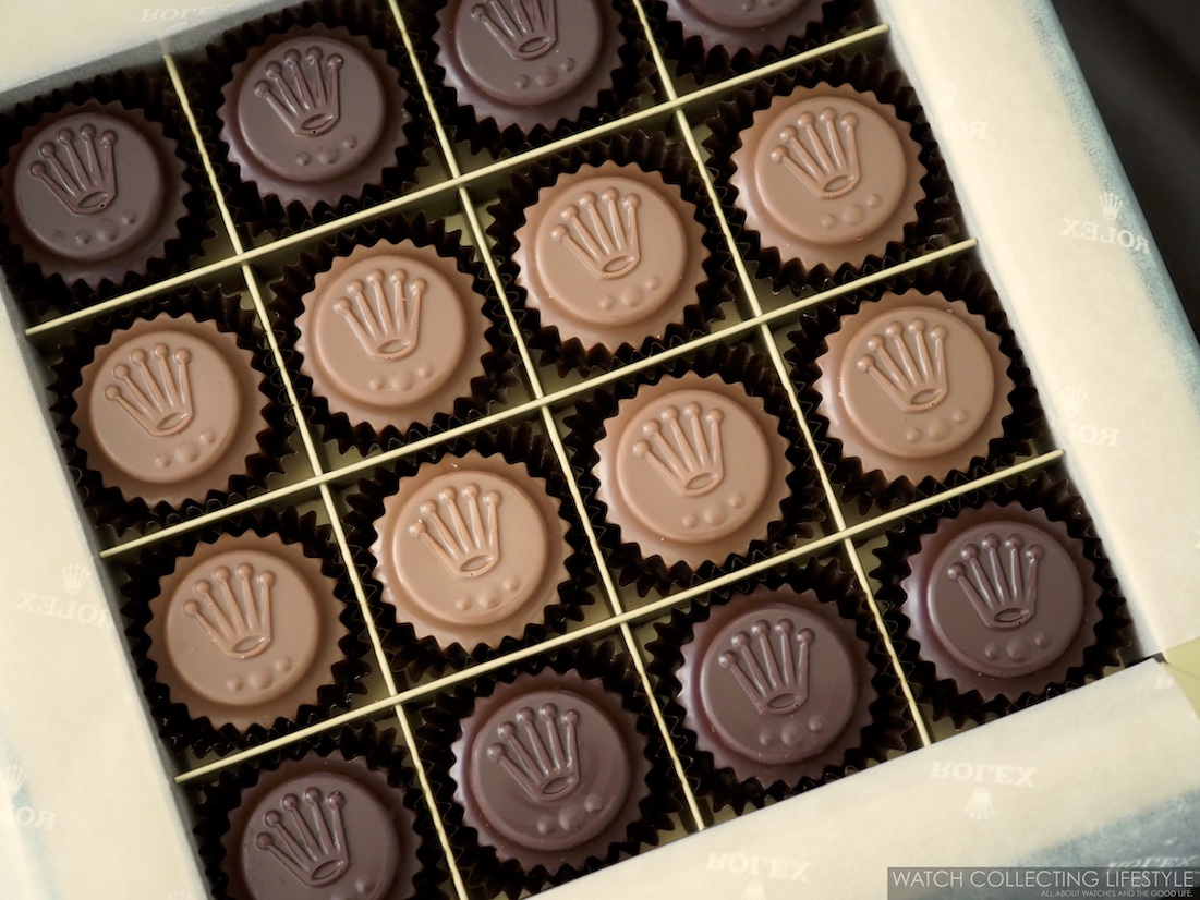 Rolex Crown Chocolates