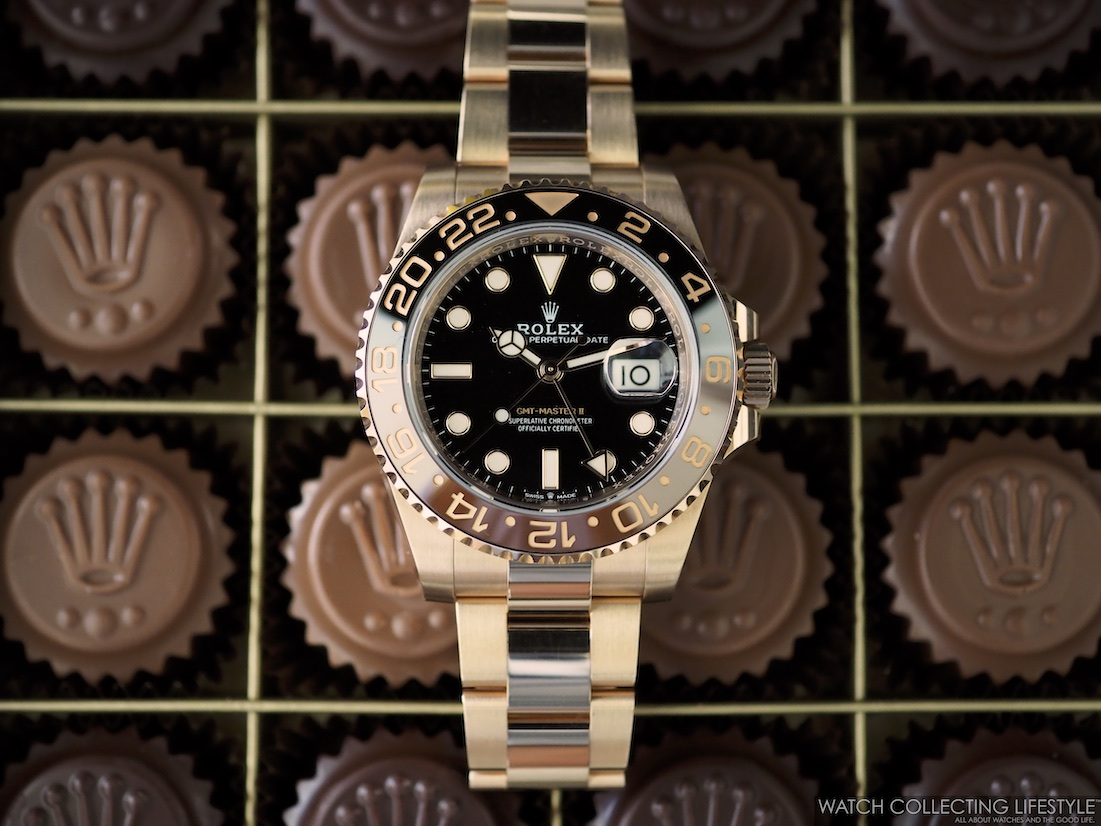Rolex Baselworld Chocolates and GMT Master II Everose Rootbeer WCL6