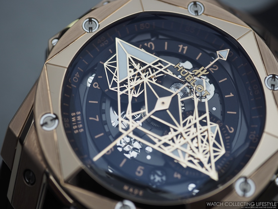 Hublot Big Bang Unico Sang Bleu II King Gold Dial