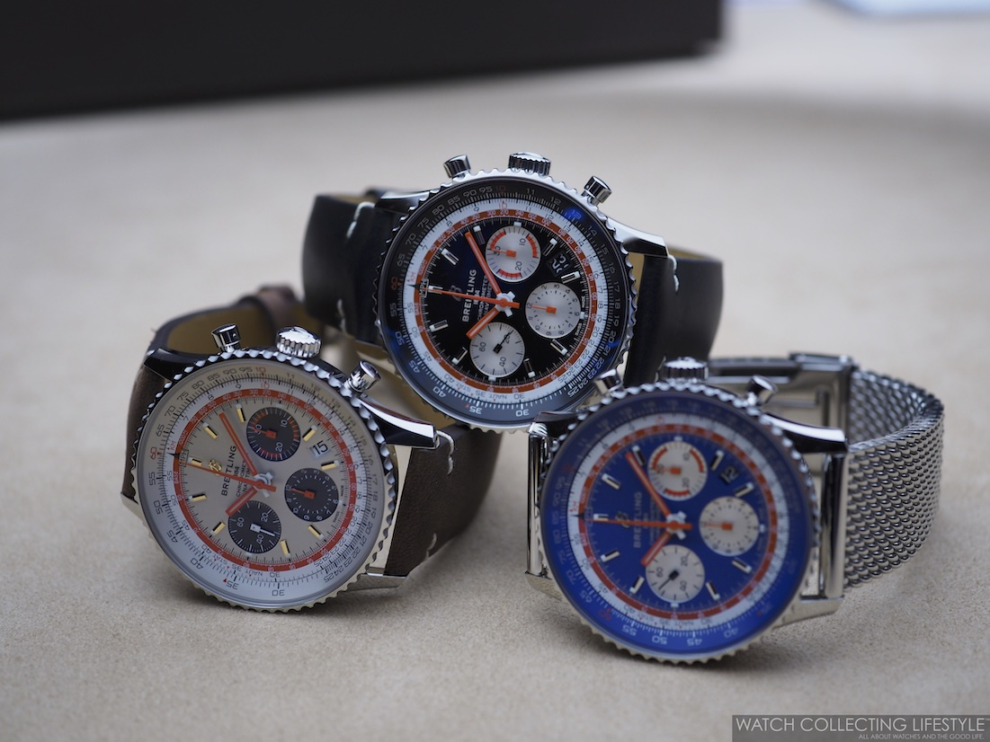 Breitling Navitimer 1 B01 Capsule Airline Editions1