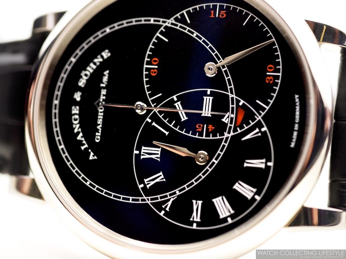 A. Lange & Söhne Richard Lange Jumping Seconds Black Dial