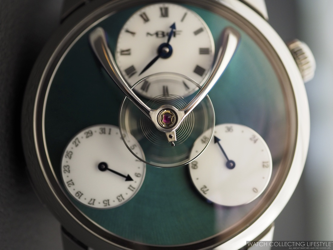 MB&F Legacy Machine Split Escapement Titanium