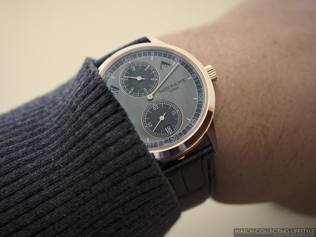 Patek Philippe Annual Calendar Regulator ref. 5235R Wristshot