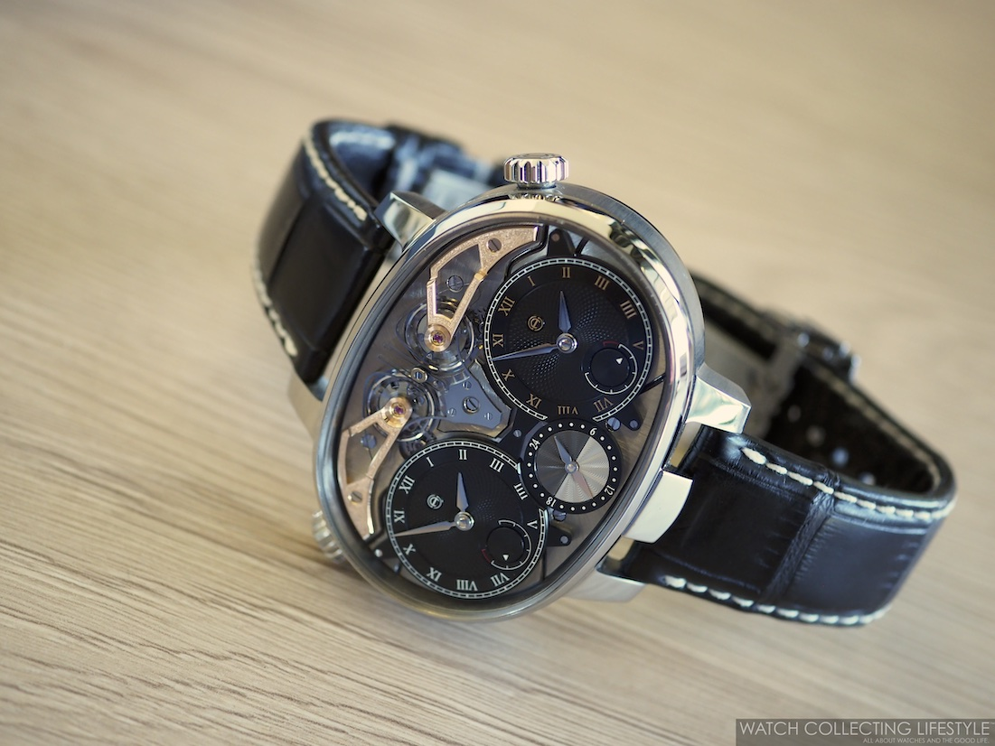 Armin Strom Masterpiece 1 Dual Time Resonance Sapphire WCL2