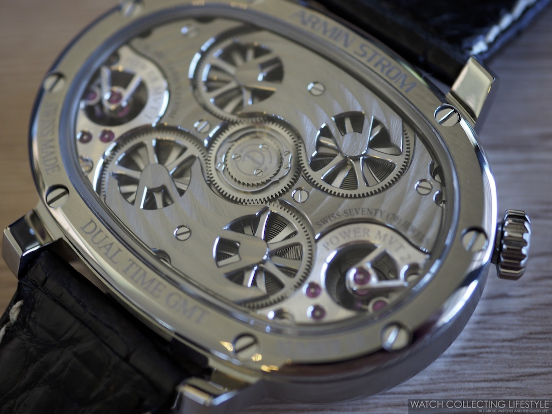 Armin Strom Masterpiece 1 Dual Time Resonance Movement