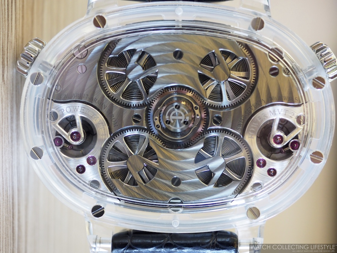 Armin Strom Masterpiece 1 Dual Time Resonance Sapphire Movement