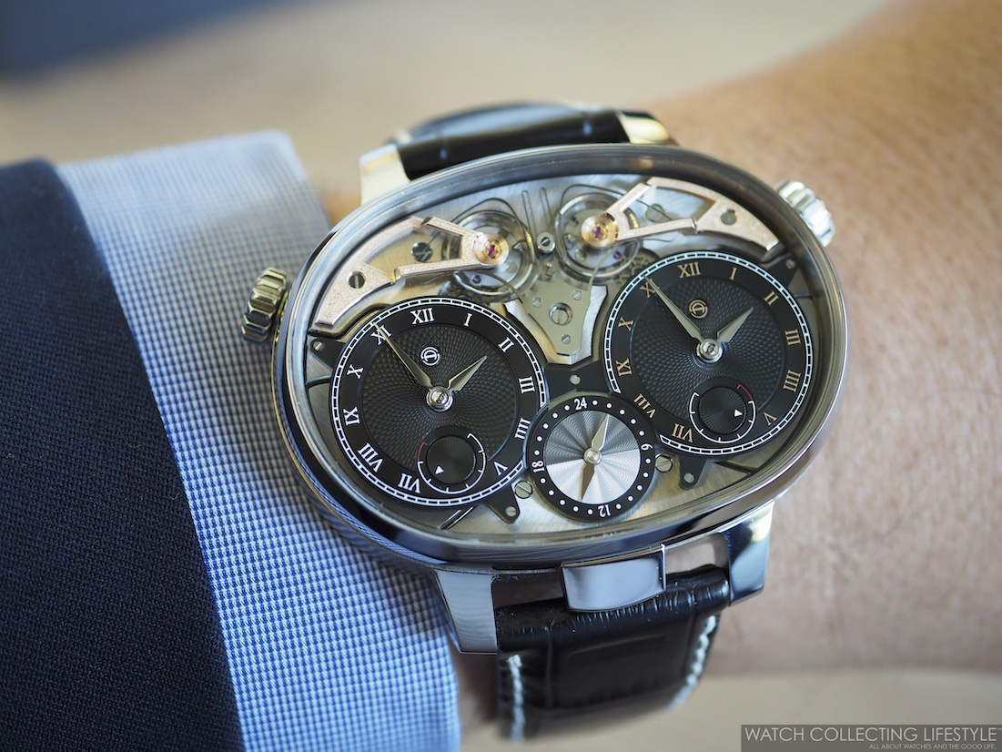 Armin Strom Dual Time Resonance Water Wristshot WCL