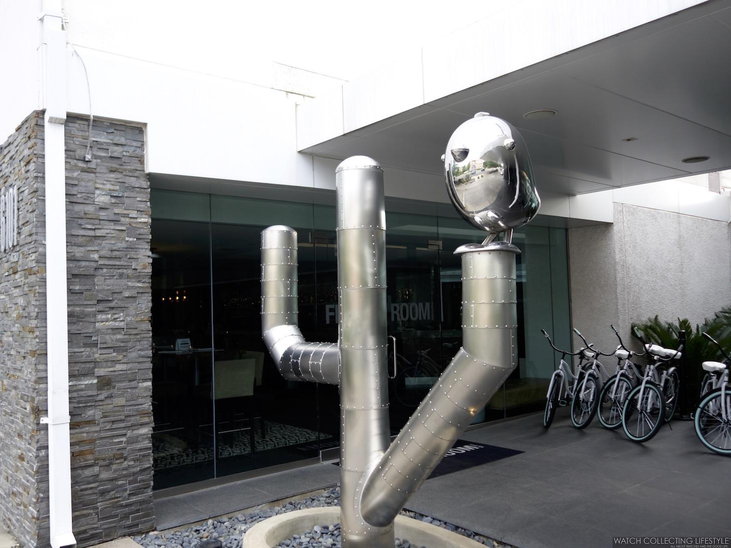 The Lumen Dallas Sculpture by Brad Oldham