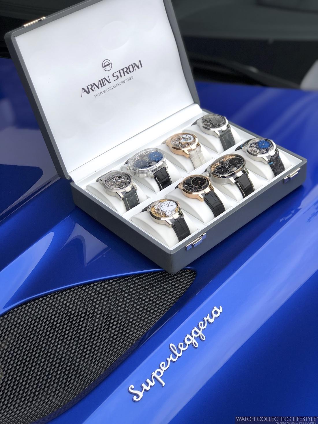 Aston Martin DBS Superleggera and Armin Strom