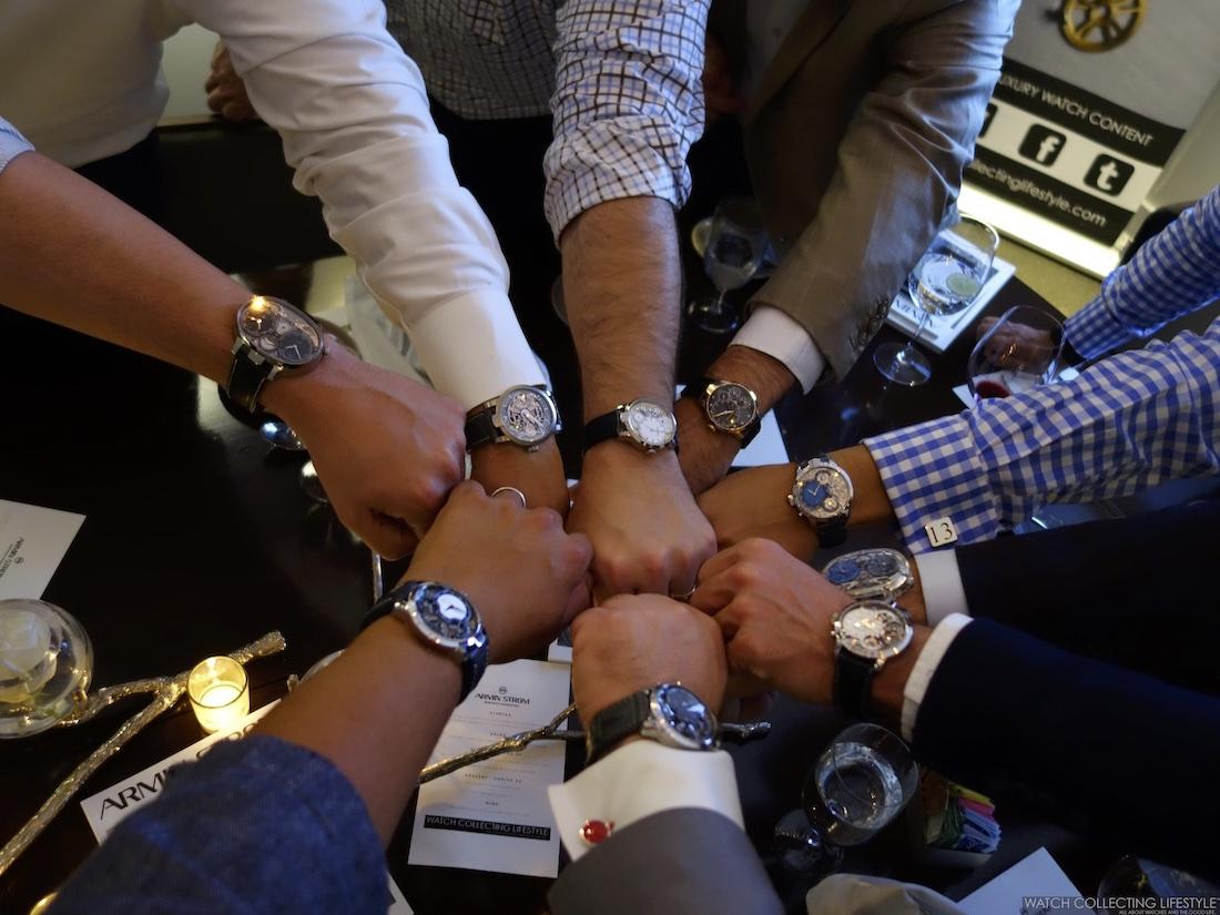 Armin Strom Collectors Wristshot