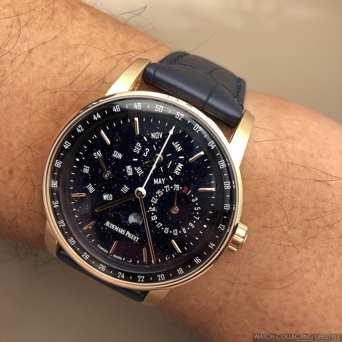 Audemars Piguet CODE 11.59 Perpetual Calendar Wristshot