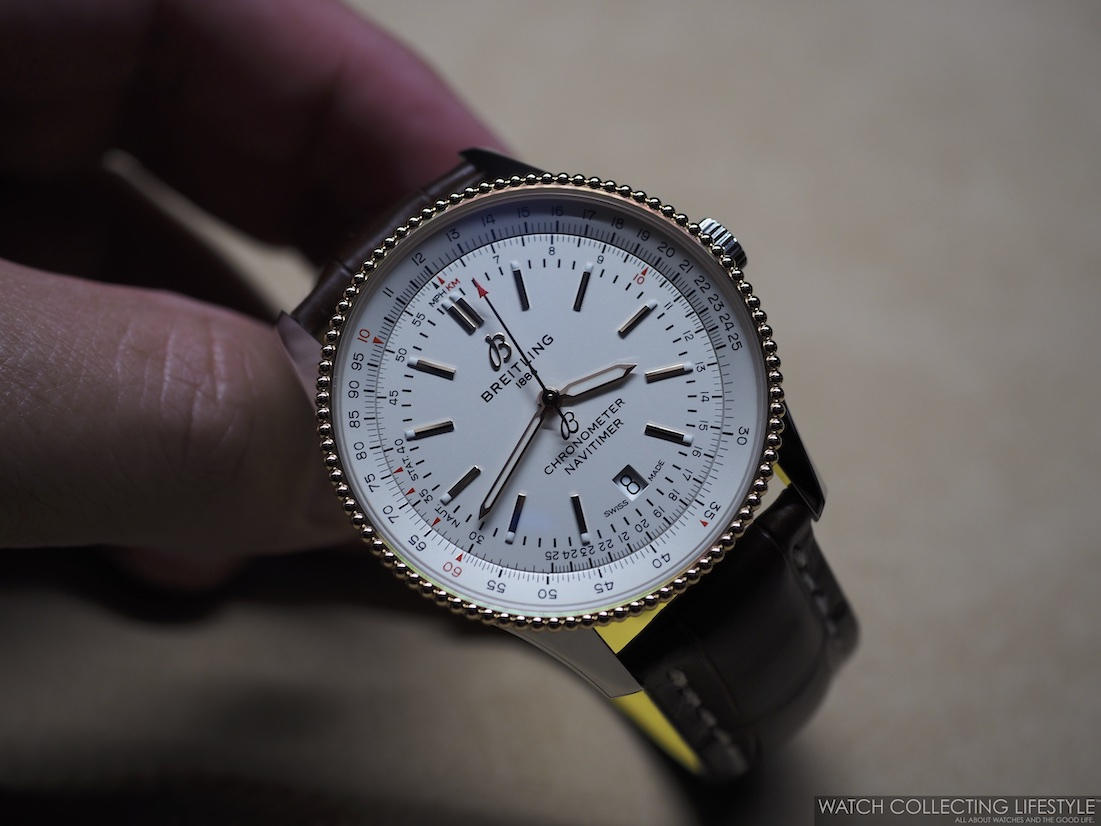Breitling Navitimer Automatic 41 Silver WCL