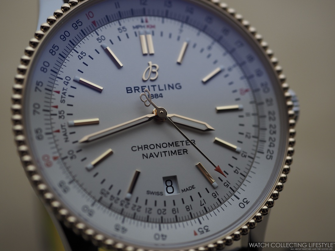 Breitling Navitimer Automatic 41 Silver