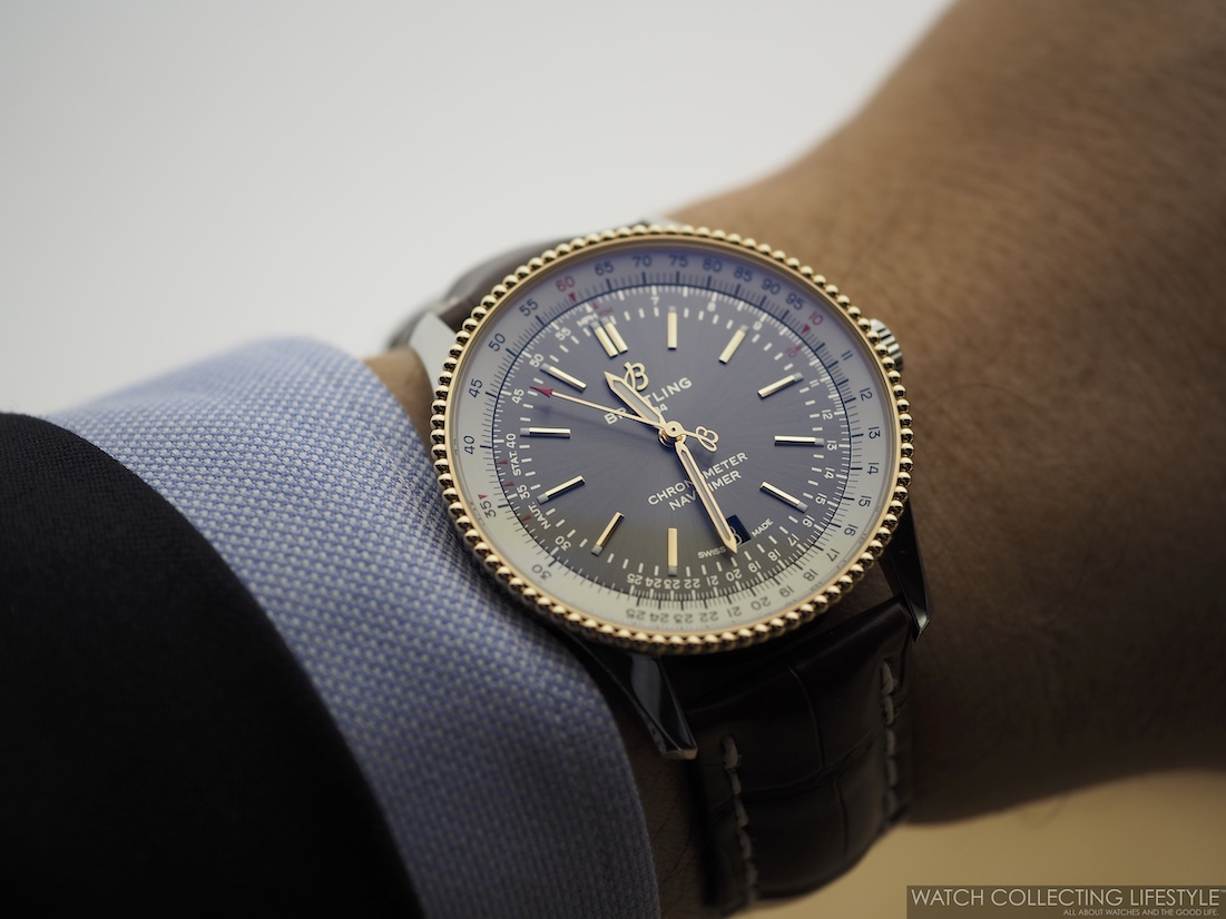 Breitling Navitimer Automatic 41 Anthracite Wristshot WCL