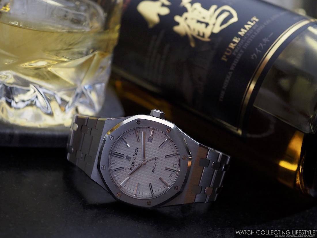 Audemars Piguet Royal Oak and Nikka Whisky Taketsuru