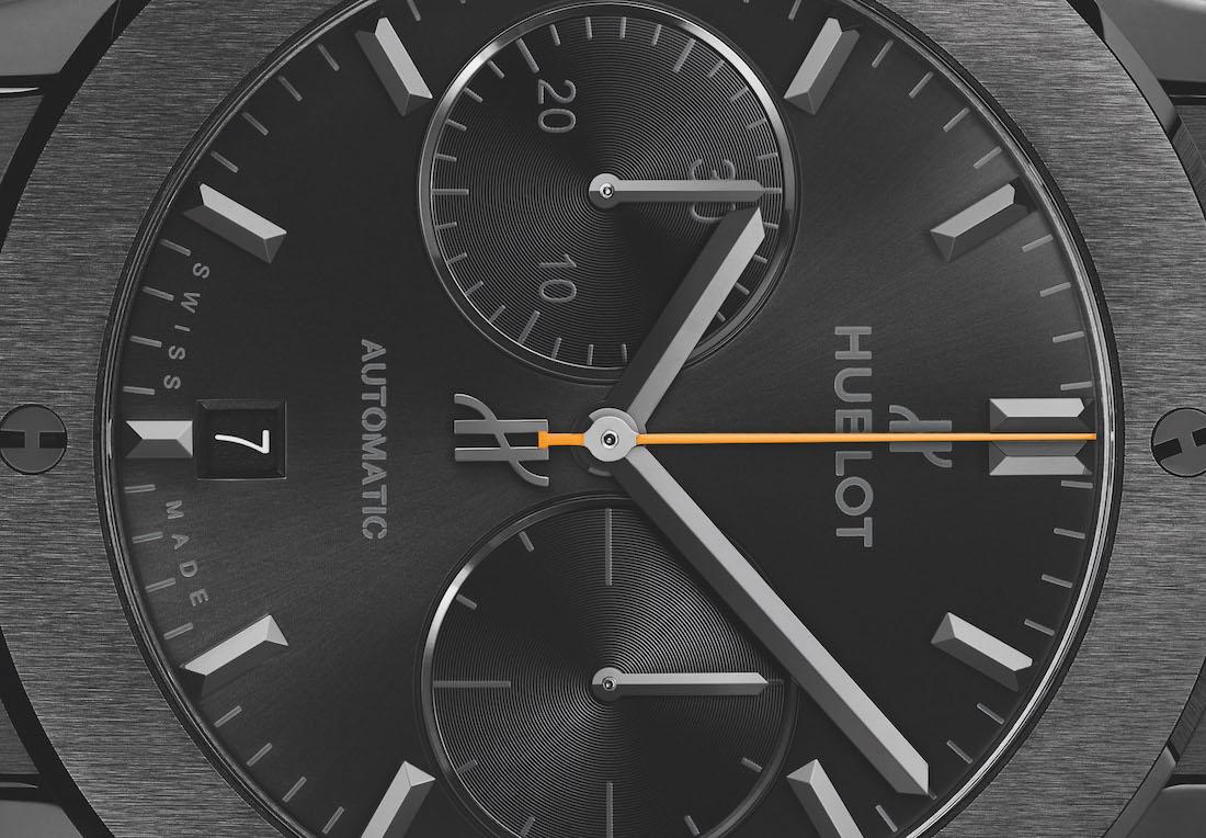 Hublot Classic Fusion Chronograph Veuve Clicquot Polo Classic 2019