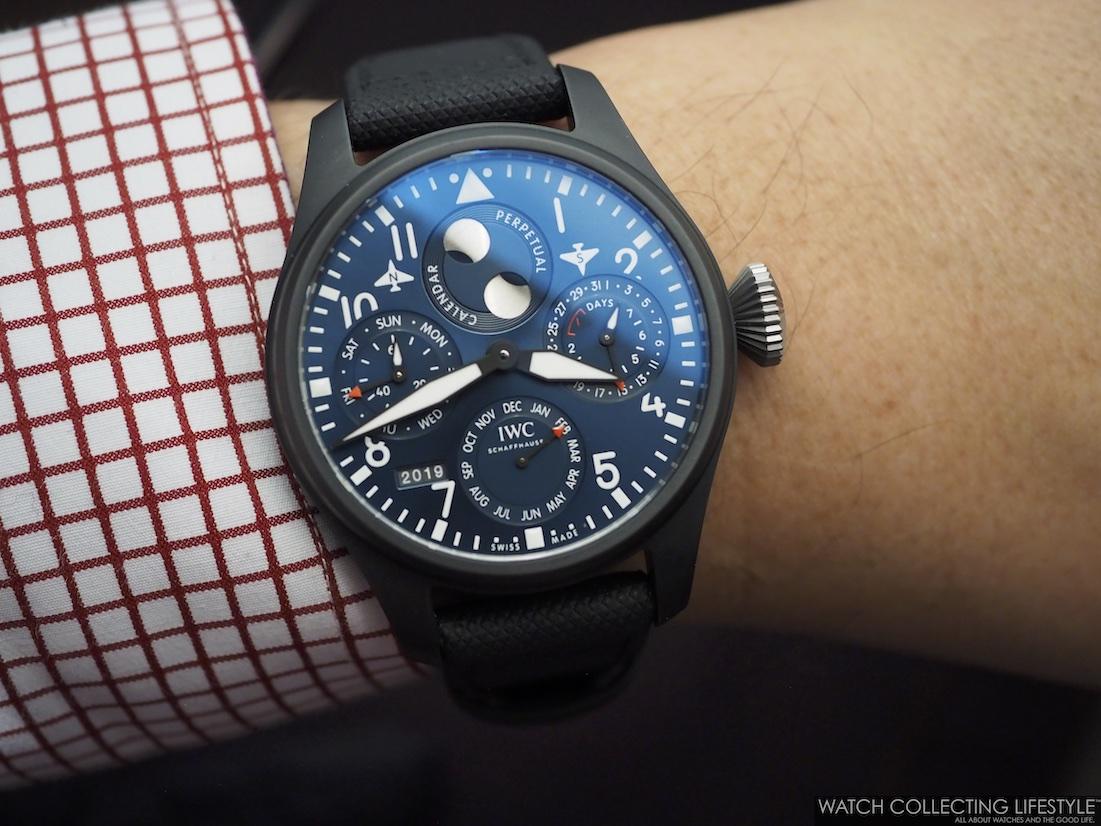 IWC Pilot's Watch Perpetual Calendar 'Rodeo Drive' Edition Wristshot