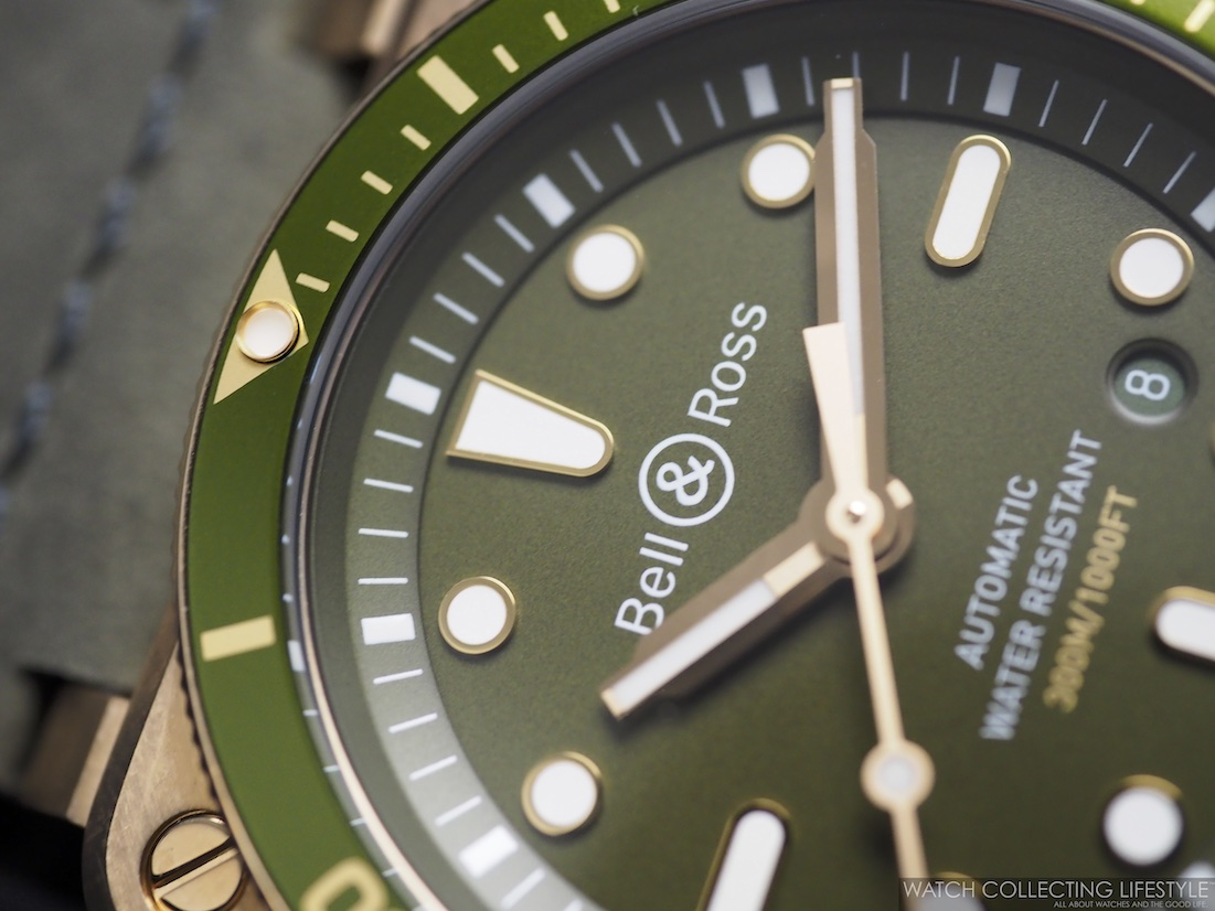 Bell Ross BR 03-92 Diver Green Bronze WCL