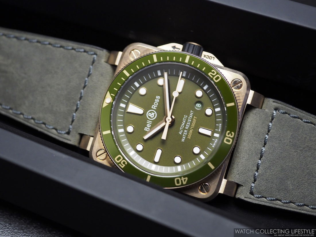 Bell Ross BR 03-92 Diver Green Bronze WCL2