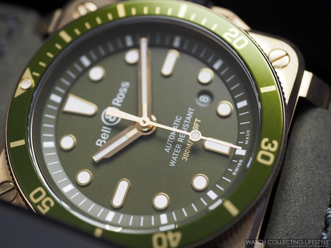 Bell Ross BR 03-92 Diver Green Bronze WCL3