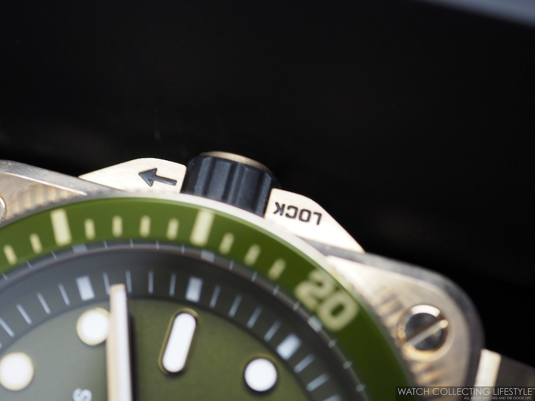 Bell Ross BR 03-92 Diver Green Bronze WCL4