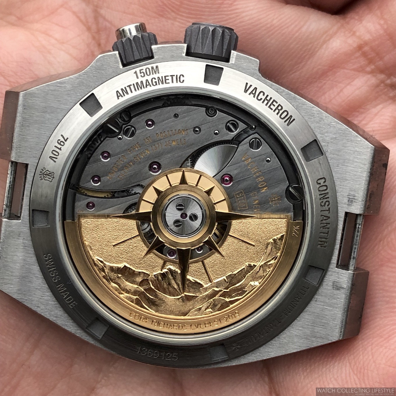Vacheron Constantin Cory Richards Prototype WCL
