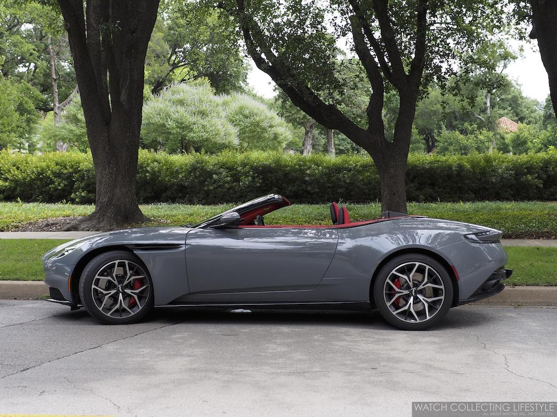 Aston Martin DB11 Volante Grey China
