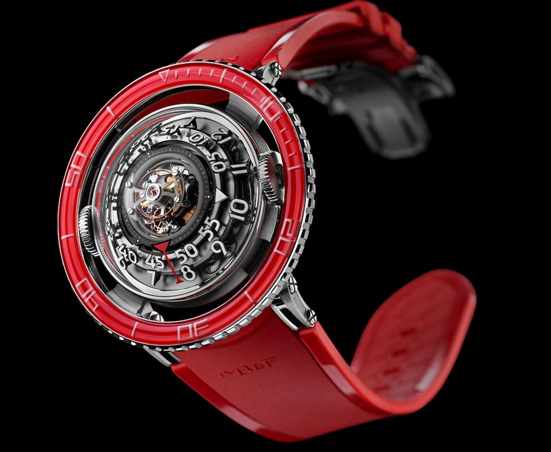 MBF HM7 Aquapod Platinum Red 4