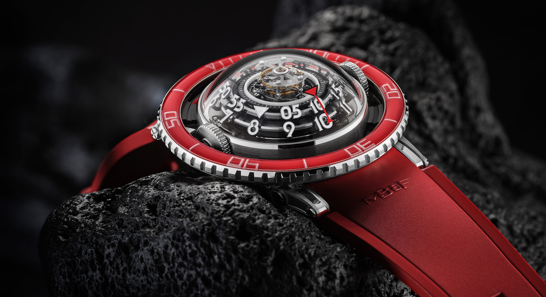 MBF HM7 Aquapod Platinum Red 7