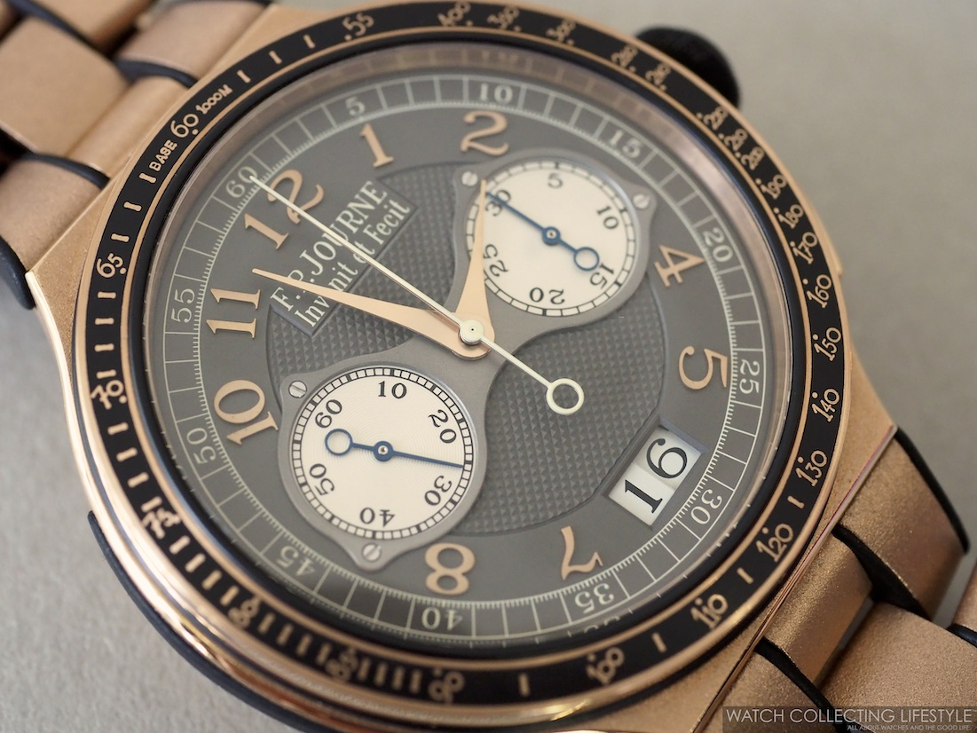 F.P. Journe Linesport Chronographe Rattrapante Calibre 1518 WCL4