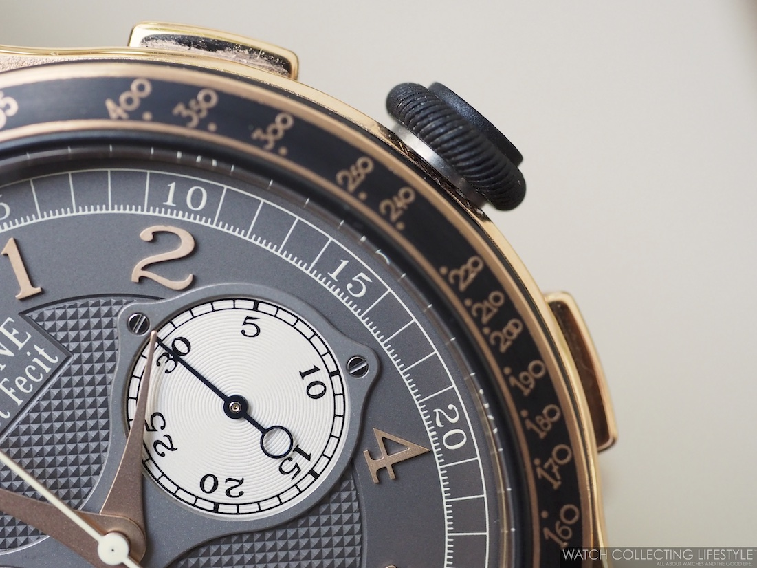 F.P. Journe Linesport Chronographe Rattrapante Calibre 1518 WCL6